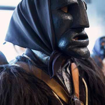 Mamuthone di Mamoiada del Museo delle Maschere di Mamoiada