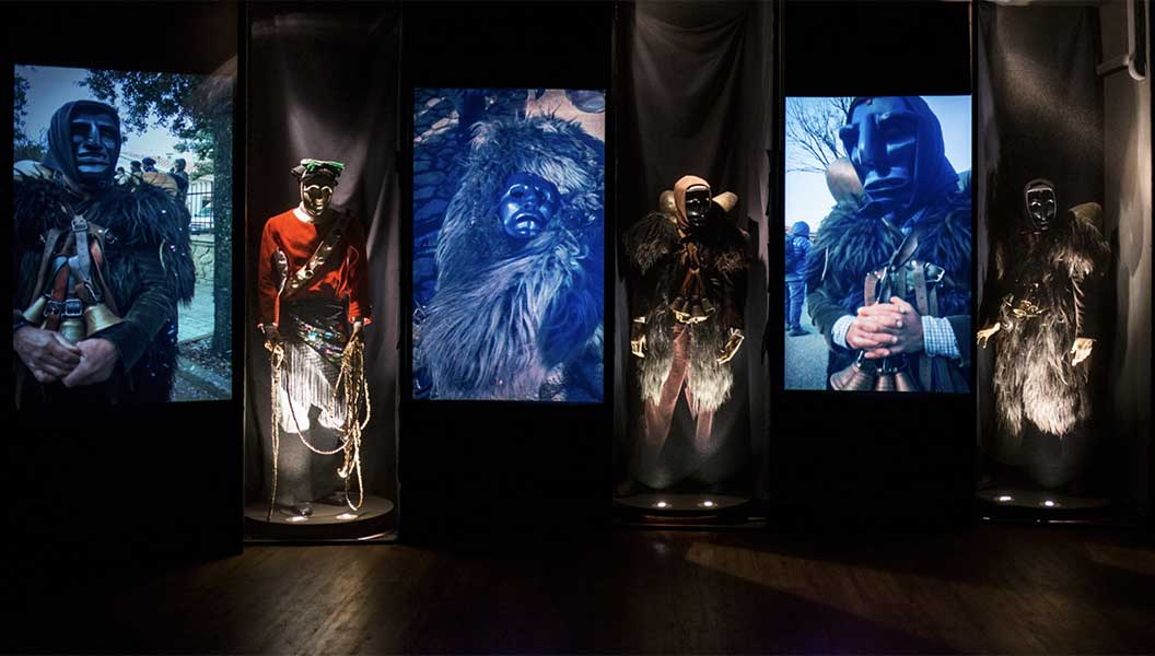 Sala multimediale del Museo delle Maschere Mamoiada