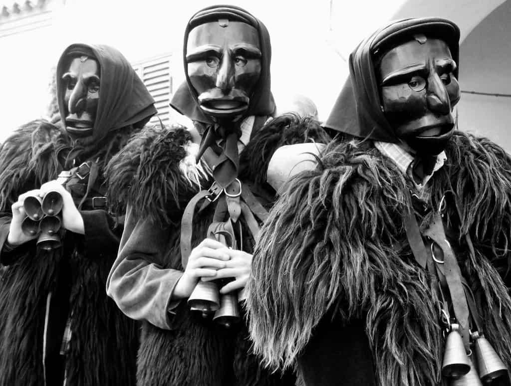 Mamuthones - Carnevale di Mamoiada