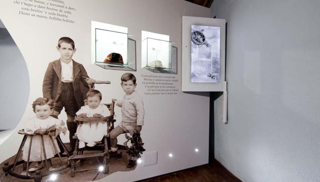 Museo della Cultura e del Lavoro - Installazione interattiva
